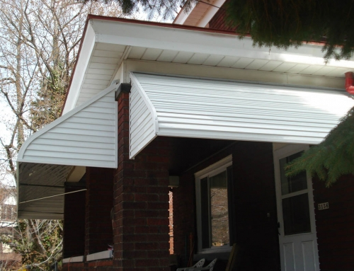 Aluminum Stepdown Porch